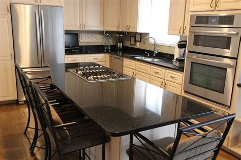 tiling kitchen counters 17 best images about kitchens in black granite on 2820