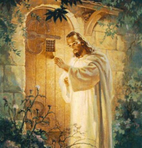 jesus knocking at the door revelation 3 20 commentary the message to laodicea