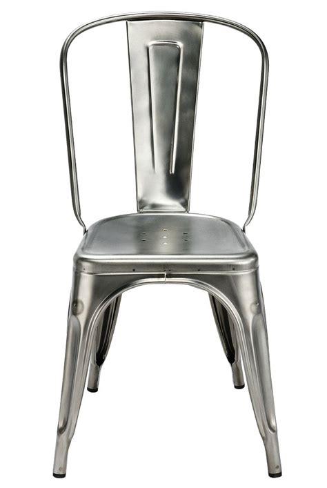 chaise acier chaise empilable a acier brut pour l 39 intérieur acier
