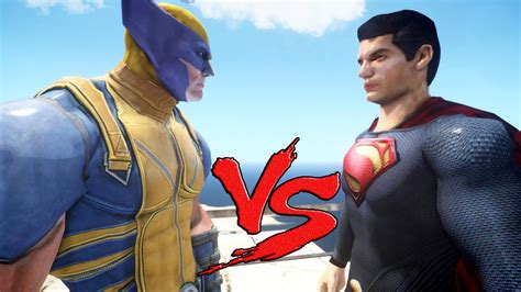 Wolverine Vs Superman