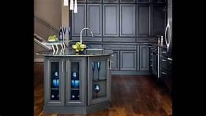 Modern Dark Grey Kitchen Cabinets 3 Design Kitchen World