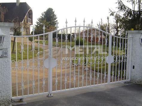 etude et fabrication portail coulissant portail electrique portail automatique portail en fer