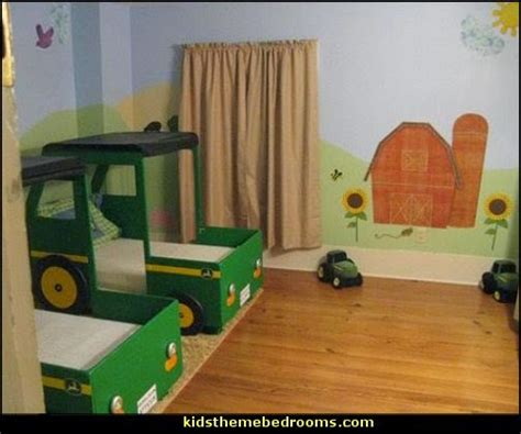 Deere Tractor Bedroom Decor by Decorating Theme Bedrooms Maries Manor Deere