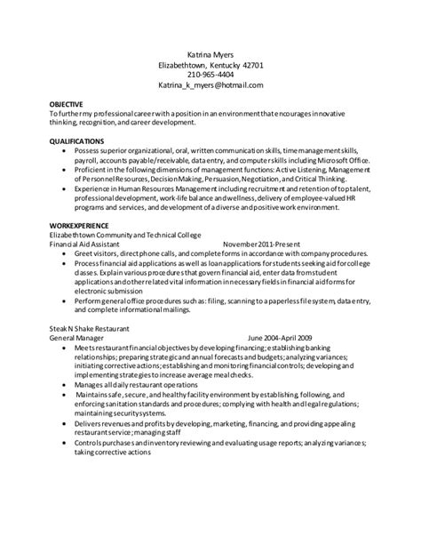 myers resume april15 hr updated fa duty