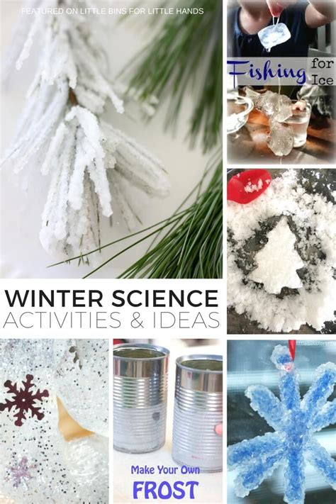 snowman science activities  experiments  winter stem