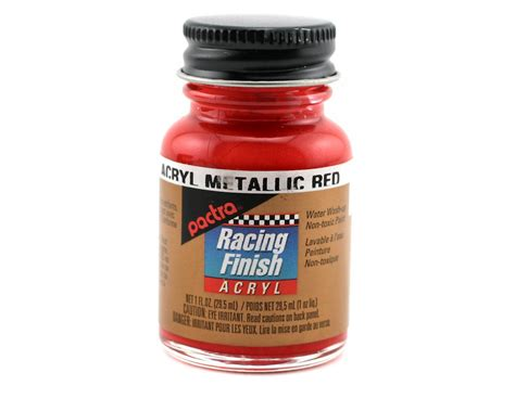Pactra Metallic Red Acrylic Paint (1oz) [pacrc5504]
