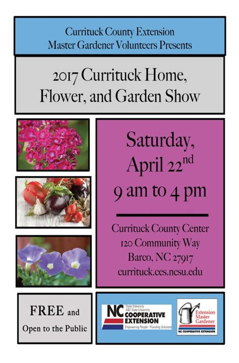 2017 currituck home flower and garden show