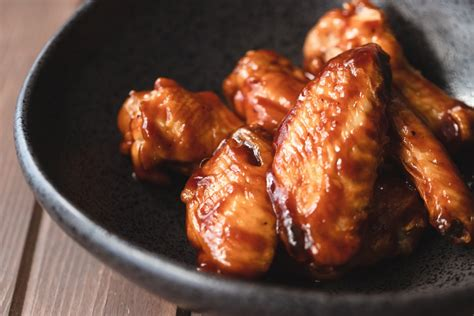 fryer wings air bbq chicken recipe print