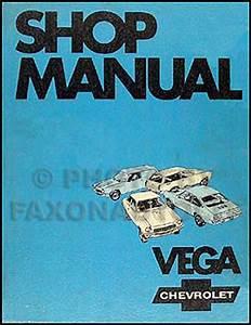 1971 Chevy Vega Body Repair Shop Manual Original