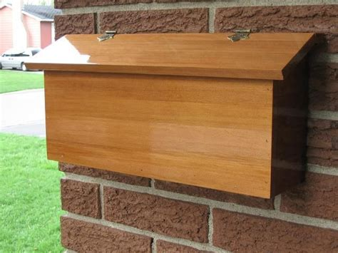 modern wooden mailbox google search wood projects