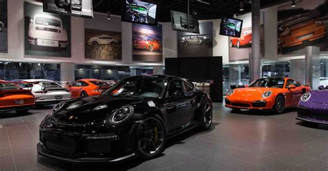 Tour The Auto Gallery's Luxury And Exotic Preowned Center