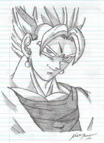 Dragon Ball Z Pencil Drawings