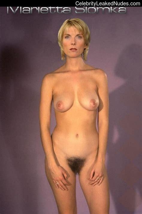 Marietta Slomka  nackt