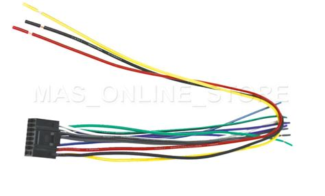 Jvc Kw Xr610 Wiring Diagram by Wire Harness For Kenwood Kdc 152 Kdc152 Pay Today Ships