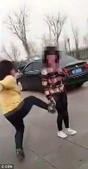 Shocking Moment School Girl Is Violently Beaten Then