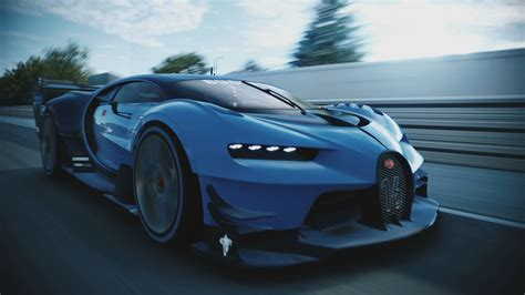 Watch The Bugatti Vision Gran Turismo In Action