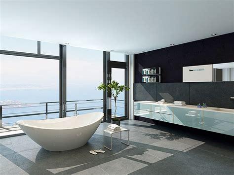 meuble haut bureau plan salle de bain en carrelage et naturelle