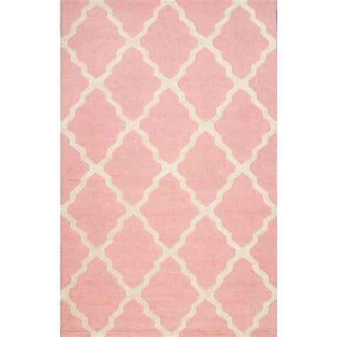 light pink trellis rug nuloom trellis baby pink 5 ft x 8 ft area rug mtvs27v