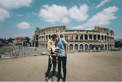Rome Romain Giphy Monde Gifs Europe Bisou