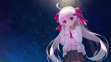 Loli Anime Wallpaper - 3600x2025 anime loli pink hair sky