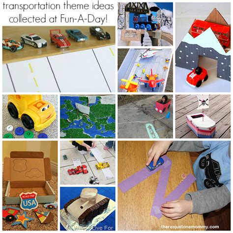 transportation crafts preschool 25 resources for a preschool transportation theme 678
