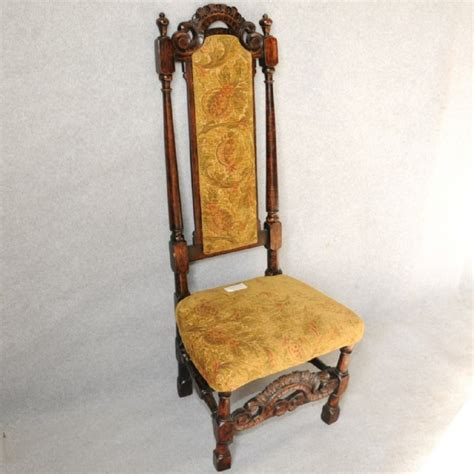 high back chair chairs single antique furniture