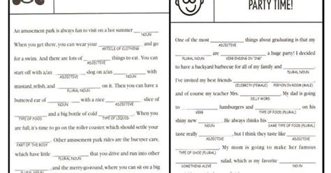 Mad Libs For Adults