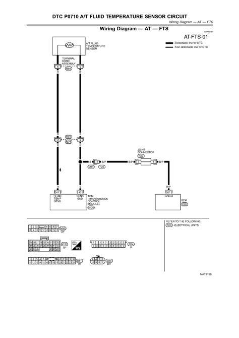 repair guides automatic transmission 2003 dtc p0710 a t fluid temperature sensor circuit