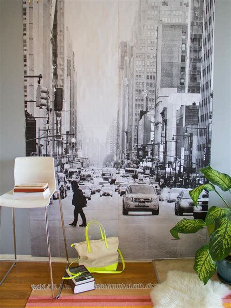 Ideas For Walls by Diy Wall Mural Hgtv