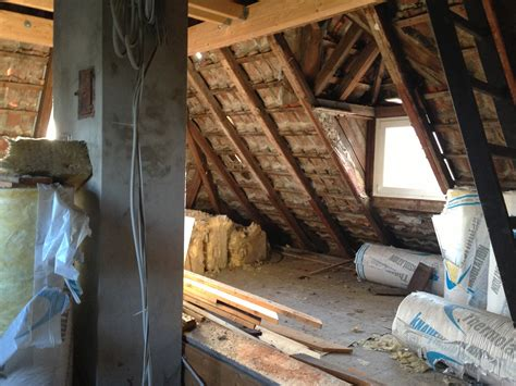 Dachbodenausbau Vorher Nachher