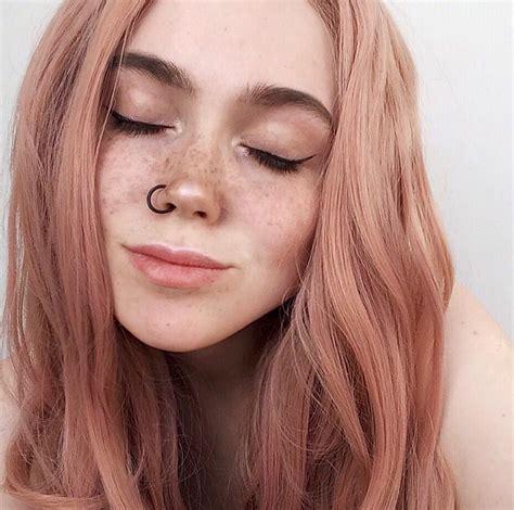 Pin Untetheredsun Hair In 2019 Peach Hair Hot