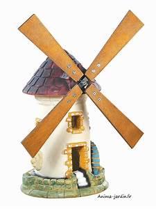 Moulin Deco Jardin : moulin avec roue tuile d coration de jardin 54 cm achat pas cher ~ Teatrodelosmanantiales.com Idées de Décoration