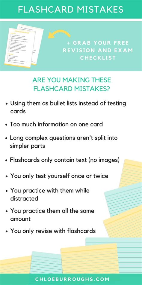 5 Tips For Powerful Flashcards And Better Exam Revision  College, Finals And Create