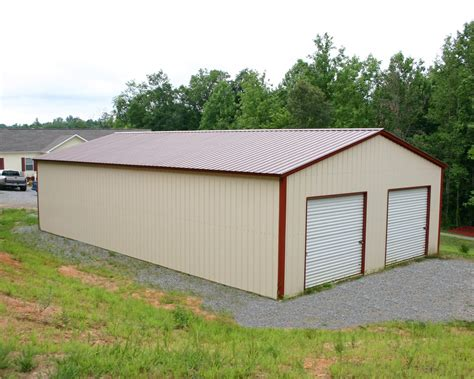 Garage Buildings by 30 X 41 X 12 All Vertical Garage Choice Metal Buildings