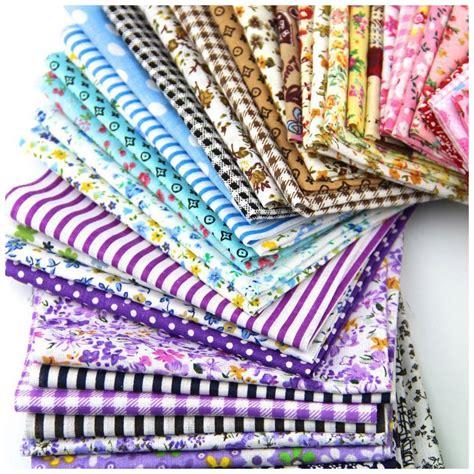 fabric patchwork craft cotton material batiks mixed