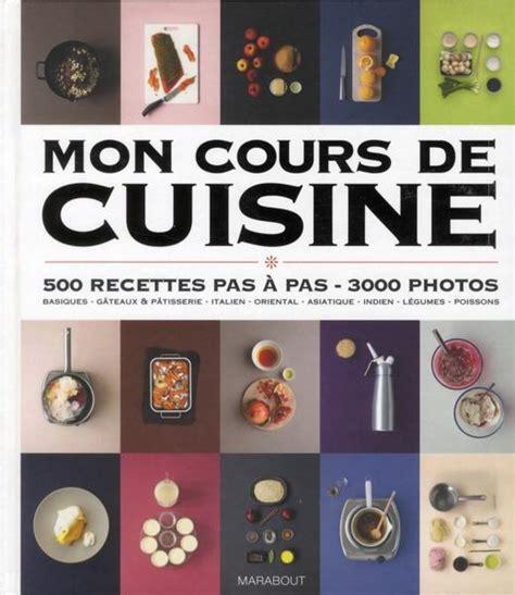cours de cuisine chartres livre mon cours de cuisine collectif