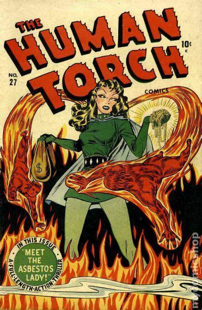 human torch comics  comic books