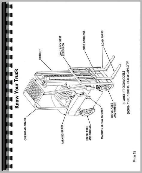 clark c500 y25 forklift operators manual