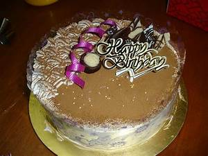 KC Home Bakery: Tiramisu Birthday Cake
