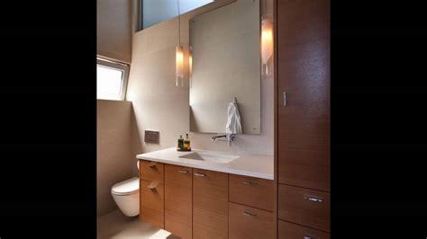 floating mirror bathroom youtube