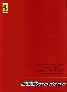 Ferrari 360 Modena Workshop Manual Vol 2 Pdf  297 Mb