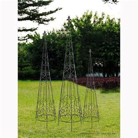 Metal Garden Pyramid Trellis  Woodworking Projects & Plans