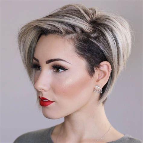 coupes courtes tendance 2018 coupe courte coiffures