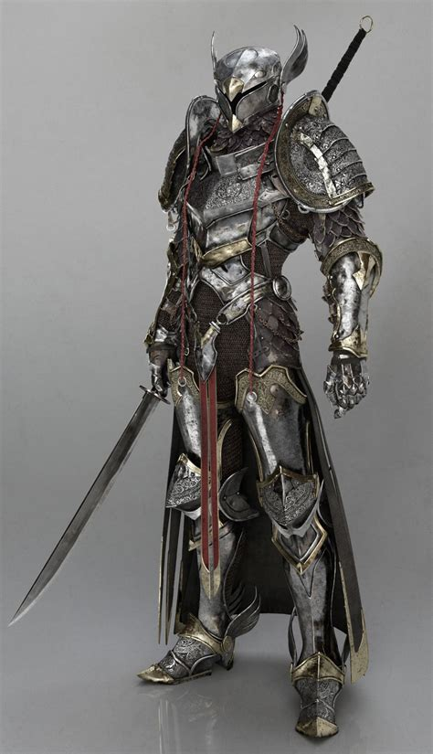 M Fighter Plate Mail Helm  Armor  Pinterest  Plate Mail
