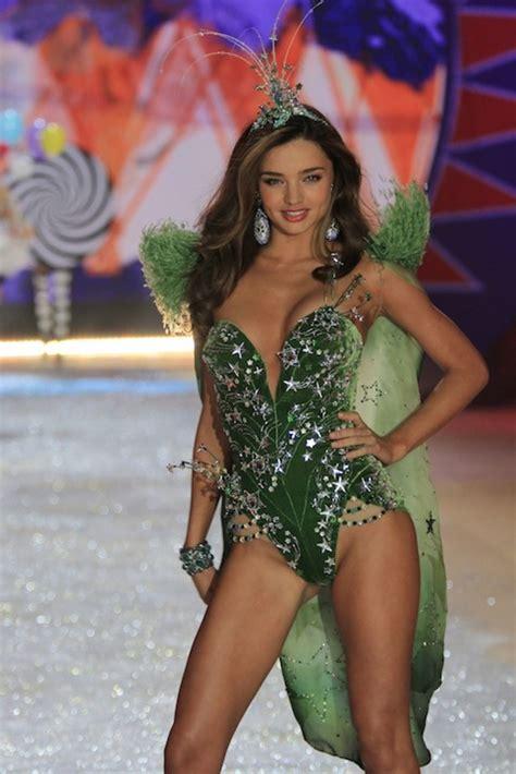 secret models miranda kerr victoria paid victorias runway were much last secrets angel vs main lingerie lima adriana glamour stars