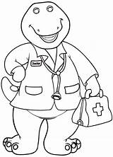 Barney Coloring Pages Printable Getcolorings sketch template