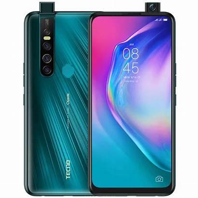 Tecno Camon Smartphone Portable Orange 4g Ice