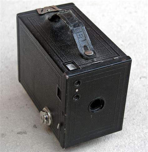 camera film kodak box brownie photograph