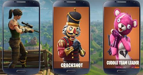 fornite battle skins  wallpepers  android apk