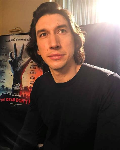 """Adam Driver on Instagram: """"Adam Driver at an interview for ..."""